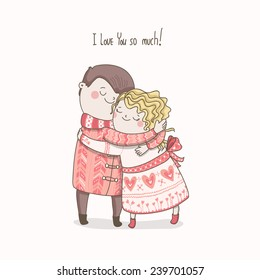 Cute Couple Cartoon Images Stock Photos Vectors Shutterstock