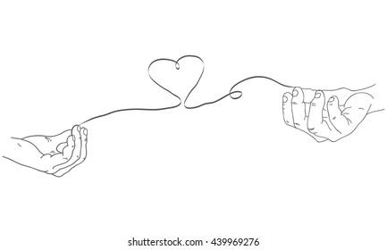 Love Sketch Images, Stock Photos & Vectors   Shutterstock