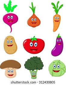 Cute Vegetable cartoon