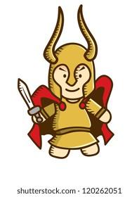 cute viking cartoon