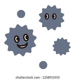 Cute viruses or bacteria