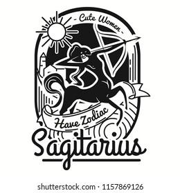 Cute Women Is Sagitarius Zodiac