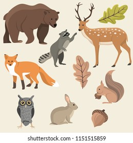 Cute Woodland Creatures