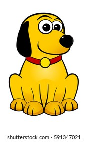 Cute Yellow Dog