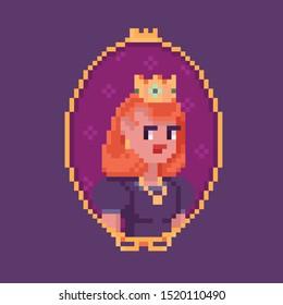 Pixel Art Crown Images Stock Photos Vectors Shutterstock