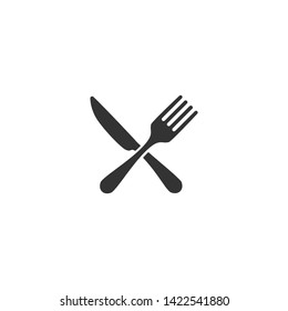 Cutlery and Kitchen Set Icon Design Template