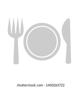 cutlery set icon. Logo element illustration. cutlery set symbol design. colored collection. cutlery set concept. Can be used in web and mobile