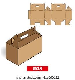 Cardboard Box Cutting Handle Images, Stock Photos & Vectors