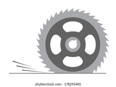 cutting tool on a white background