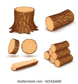 Cutting wood elements