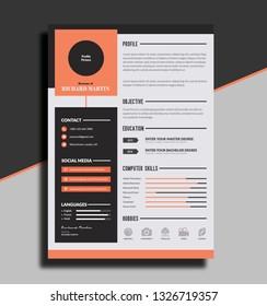 CV or Resume Template