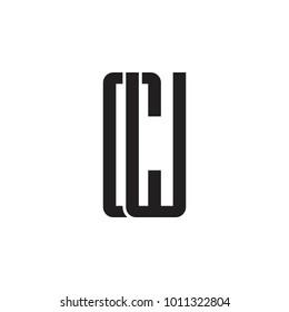 CW letter logo