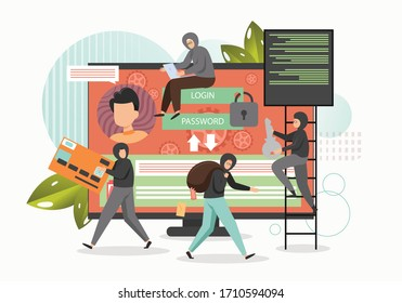 Cyber crime, hacker attack