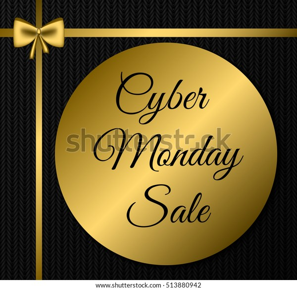 b09108eb506 Cyber Monday Sale Tag Advertising Cyber Stock Vector (Royalty Free ...