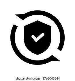cybersecurity icon or logo isolated sign symbol vector illustration - high quality black style vector icons