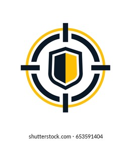 Cybersecurity vector icon