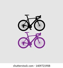 cycle icon color and black