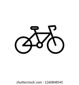 Cycle icon Outline Vector