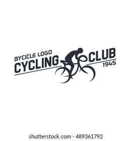 Cycling , Bicycle shop logo, Fixed gear bicycle logo