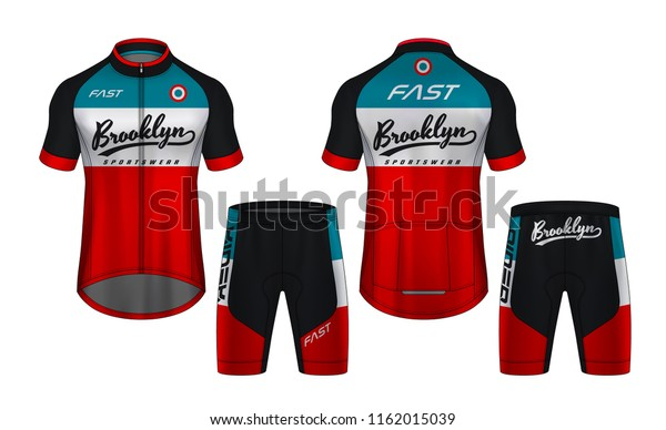 Cycling Jerseys Mockuptshirt Sport Design Templateuniform