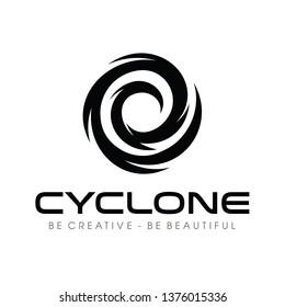 Cyclone, Tornado Logo Vector
