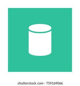 cylinder square flat