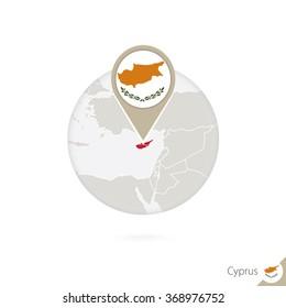 eu world cup nicosia Brand New Cypriot Flag Metal Pin Badge cyprus ?????