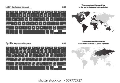 Keyboard Layout Images, Stock Photos & Vectors | Shutterstock