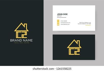 CZ Letter Real Estate Logo Design - Real estate logo