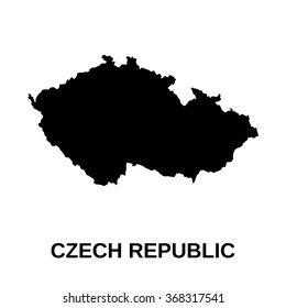 Czech Republic - map