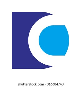 d and c logo vector
