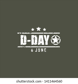 D Day Vector Design Template Celebrate