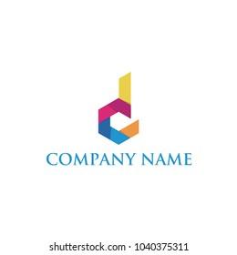D letter logo initials