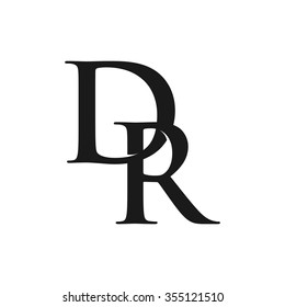 d and r logo vector