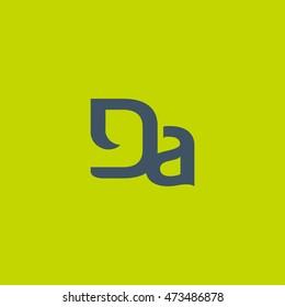 DA Letter logo