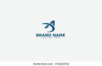 DA Logo Design Template Vector