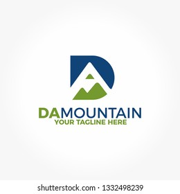 DA Mountain Logo