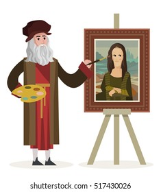 da vinci painting the mona lisa gioconda