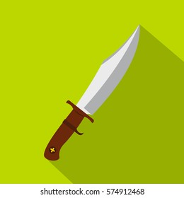 Dagger icon. Flat illustration of dagger vector icon for web
