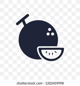 Daikon transparent icon. Daikon symbol design from Fruitandvegetables collection. Simple element vector illustration on transparent background.