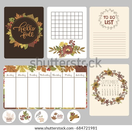 To Do List Calendar For Month Editable Vector Illustration