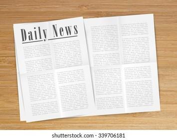 Daily News, vector
