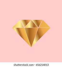 Daimond icon in vector