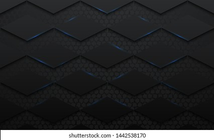 daimond pattern Abstract 3d vector black background,grunge surface-illustration,abstract