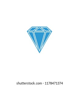 Daimond web icon ilustration vector icon