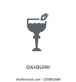 Daiquiri icon. Daiquiri design concept from Drinks collection. Simple element vector illustration on white background.