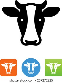 Dairy cow icon