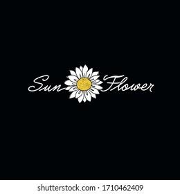 daisy and daylight pattern, illustration and vector
