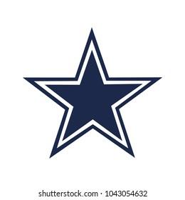Dallas cowboys logo vector illustration