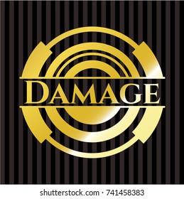 Damage golden badge